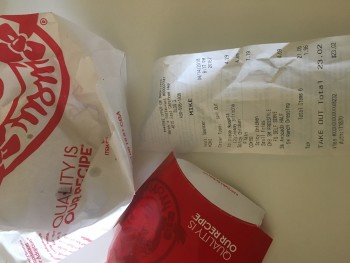 Wendy's, East Carefree Highway, Cave Creek, AZ, USA photo-108722 Got Food Poisoning? Report it now