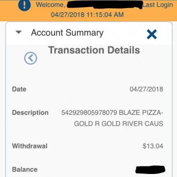 Blaze Pizza, Golden Centre Lane, Gold River, CA, USA photo-111697 Got Food Poisoning? Report it now
