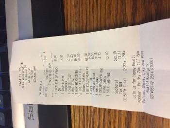 Saltik Steakhouse, Calgary, 8 Avenue Southwest, Calgary, AB, Canada photo-113008 Got Food Poisoning? Report it now