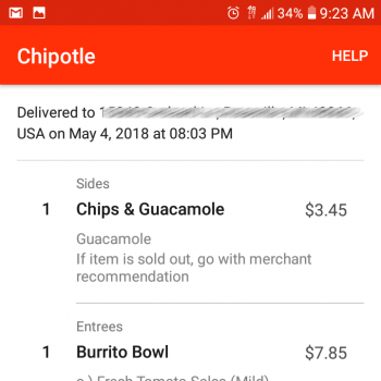 Chipotle Mexican Grill, Gratiot Avenue, Roseville, MI, USA photo-113117 Got Food Poisoning? Report it now