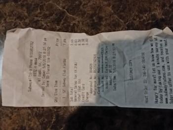 SUBWAY®Restaurants, North Resler Drive, El Paso, TX, USA photo-113640 Got Food Poisoning? Report it now