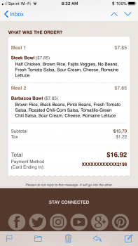 Chipotle Mexican Grill, North Cooper Road, Gilbert, AZ, USA photo-115638 Got Food Poisoning? Report it now
