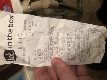 Jack in the box, Newport Beach, CA, USA photo-117499 Got Food Poisoning? Report it now
