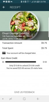 Chopt Creative Salad Co., West 42nd Street, New York, NY, USA photo-125574 Got Food Poisoning? Report it now
