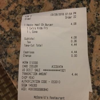 McDonald's, Triton Drive, Foster City, San Mateo, CA, USA photo-138034 Got Food Poisoning? Report it now