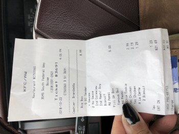 KFC, South Federal Way, Boise, ID, USA photo-142516 Got Food Poisoning? Report it now