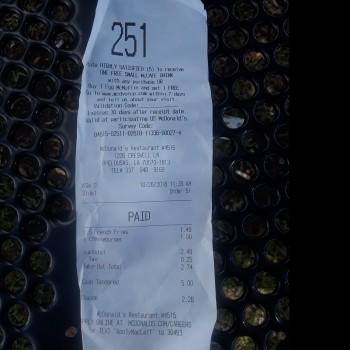 McDonald's, Creswell Lane, Opelousas, LA, USA photo-142790 Got Food Poisoning? Report it now