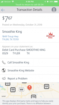 Smoothie King, Texas 110, Tyler, TX, USA photo-144116 Got Food Poisoning? Report it now