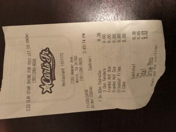 Carl's Jr., Hamner Avenue, Norco, CA, USA photo-147545 Got Food Poisoning? Report it now