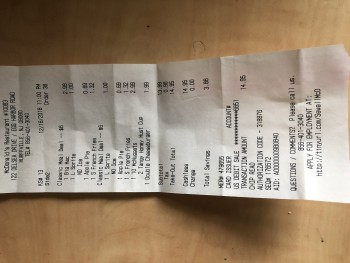 McDonald's, Delsea Drive, Glassboro, NJ, USA photo-152916 Got Food Poisoning? Report it now