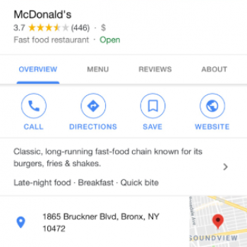 McDonald's, Bruckner Boulevard, Bronx, NY, USA photo-153365 Got Food Poisoning? Report it now
