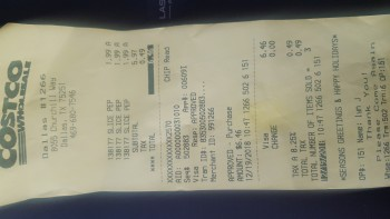 Costco Wholesale, Churchill Way, Dallas, TX, USA photo-153802 Got Food Poisoning? Report it now