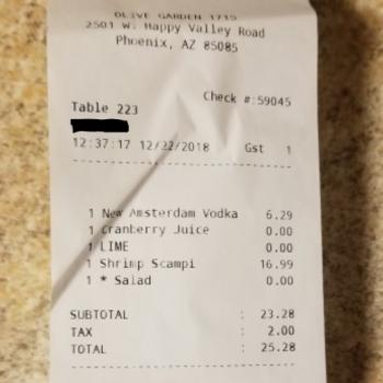 Olive Garden Italian Restaurant, West Happy Valley Road, Phoenix, AZ, USA photo-154211 Got Food Poisoning? Report it now
