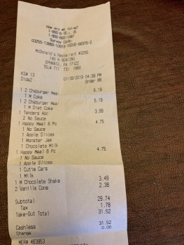 McDonald's, North Reading Road, Ephrata, PA, USA photo-158424 Got Food Poisoning? Report it now