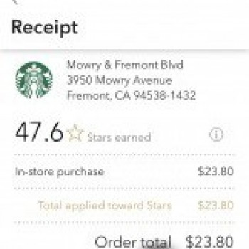 Starbucks, Mowry Avenue, Fremont, CA, USA photo-158613 Got Food Poisoning? Report it now