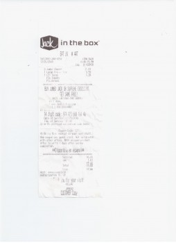 Jack in the Box, South 188th Street, SeaTac, WA, USA photo-162829 Got Food Poisoning? Report it now