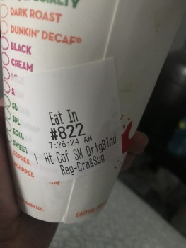 Dunkin' Donuts, South Saint Francis Drive, Santa Fe, NM, USA photo-163585 Got Food Poisoning? Report it now