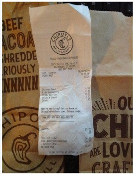 Chipotle Mexican Grill, Berlin Turnpike, Newington, CT, USA photo-165019 Got Food Poisoning? Report it now