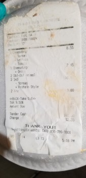 In-N-Out Burger, Balboa Boulevard, Northridge, CA, USA photo-167569 Got Food Poisoning? Report it now