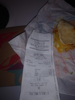 Taco Bell, South Gratiot Avenue, Clinton Township, MI, USA photo-167597 Got Food Poisoning? Report it now