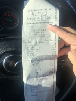 Taco Bell, White Street, York, PA, USA photo-167987 Got Food Poisoning? Report it now