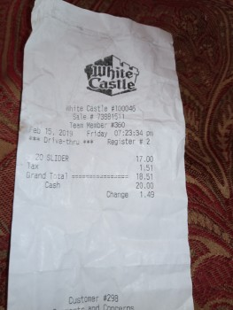 White Castle, Hillside Avenue, Jamaica, NY, USA photo-168032 Got Food Poisoning? Report it now