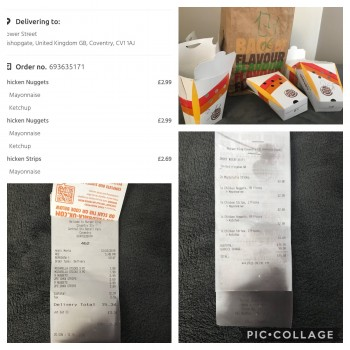 Burger King, Warwick Road, Coventry, UK photo-178102 Got Food Poisoning? Report it now