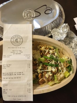 Chipotle Mexican Grill, Katy Freeway, Katy, TX, USA photo-179776 Got Food Poisoning? Report it now