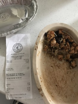 Chipotle Mexican Grill, South Orange Blossom Trail, Orlando, FL, USA photo-181210 Got Food Poisoning? Report it now