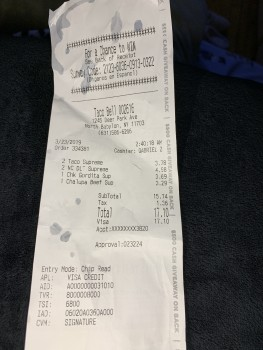 Taco Bell, Deer Park Avenue, North Babylon, NY, USA photo-183130 Got Food Poisoning? Report it now