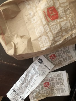 Jack in the Box, Watson Road, St. Louis, MO, USA photo-183806 Got Food Poisoning? Report it now