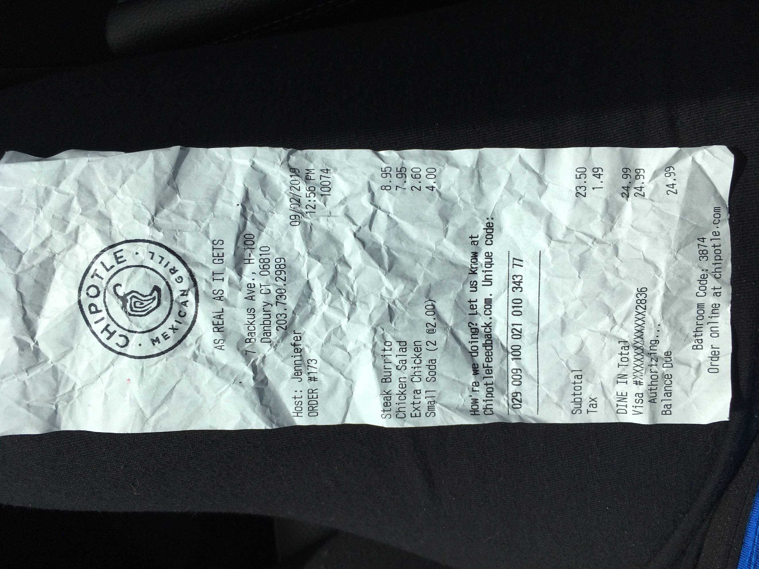 Chipotle Mexican Grill - Got Food Poisoning? Report it now
