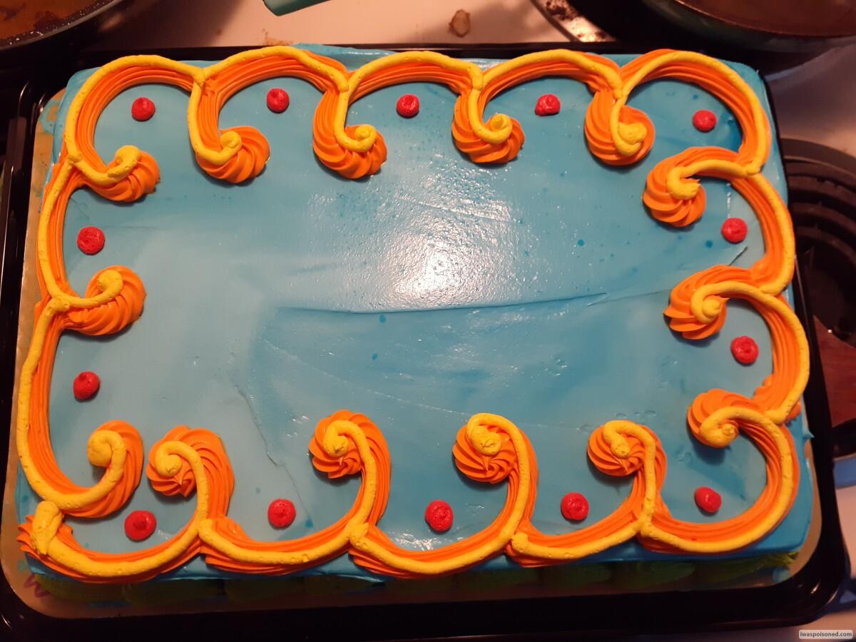 Enjoyable Got Sick After Eating Cake Get Help Now Personalised Birthday Cards Veneteletsinfo