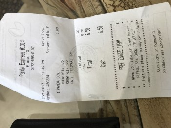 panda Express Plano, TX, United States photo-69029 Got Food Poisoning? Report it now