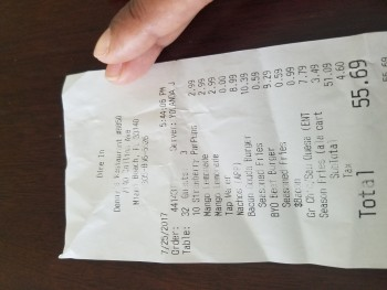 Denny's, Collins Avenue, Miami Beach, FL, United States photo-69735 Got Food Poisoning? Report it now