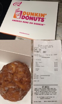 Dunkin' Donuts, 16250 Evans Plaza, Omaha, NE 68116, United States photo-70944 Got Food Poisoning? Report it now