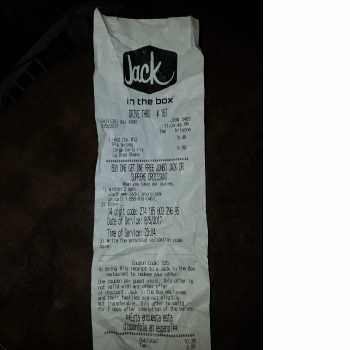 Jack in the Box, Highway 99 West, Corning, CA, United States photo-70961 Got Food Poisoning? Report it now