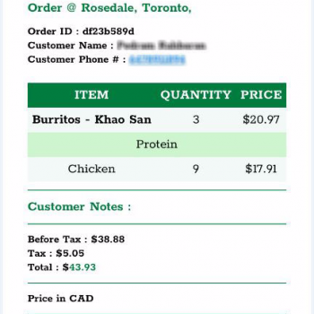 Freshii, Yonge Street, Toronto, ON, Canada photo-74282 Got Food Poisoning? Report it now