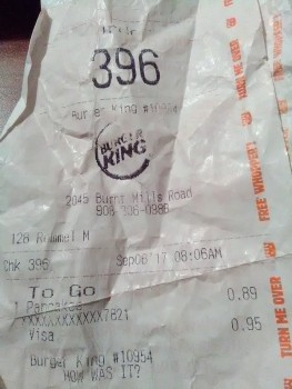 Burger King, 2045 Burnt Mills Road, Bedminster Township, NJ, United States photo-76627 Got Food Poisoning? Report it now