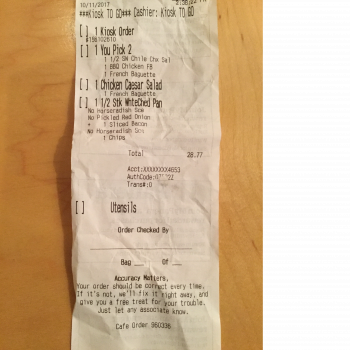 Panera Bread, Southern Pines-Pinehurst, NC, U.S. 15, Aberdeen, NC, United States photo-77657 Got Food Poisoning? Report it now