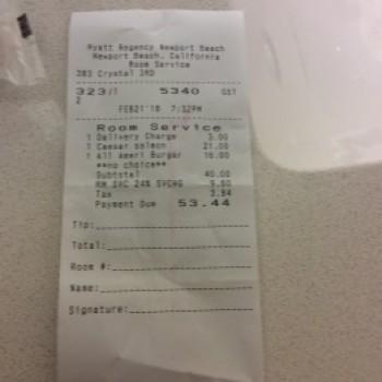Hyatt Regency Newport Beach, 1107 Jamboree Rd, Newport Beach, CA, USA photo-98646 Got Food Poisoning? Report it now