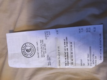 Chipotle Mexican Grill, Plaza Bonita Rd, National City, CA, USA photo-99114 Got Food Poisoning? Report it now
