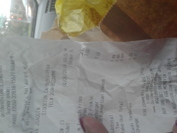 McDonald's, Pacific Avenue, Stockton, CA, USA photo-99439 Got Food Poisoning? Report it now