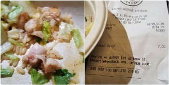 Chipotle Mexican Grill, 4012 W Riverside Dr, Burbank, CA 91505, USA photo-99479 Got Food Poisoning? Report it now